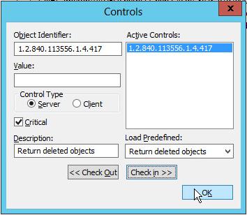 Controls LDAP