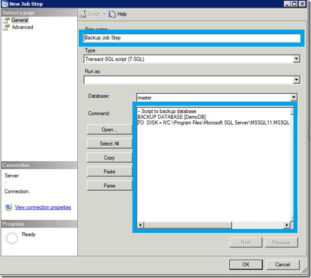 SQL Job Backup