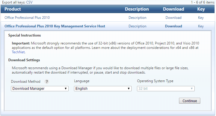 Key Management Service Host