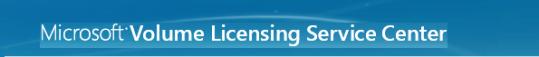 Volume Licensing Center