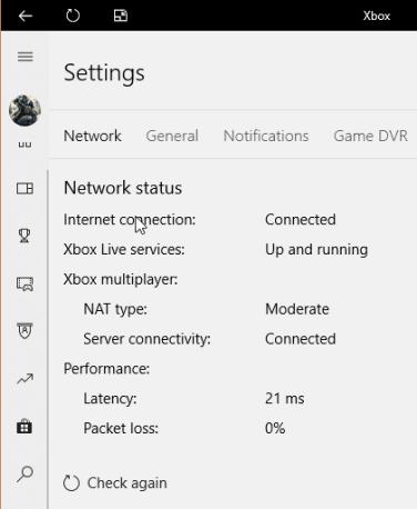 Teredo Xbox App problems
