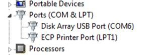 USB device manager